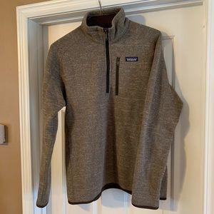 Patagonia Men's M's better sweater 1/4 zip